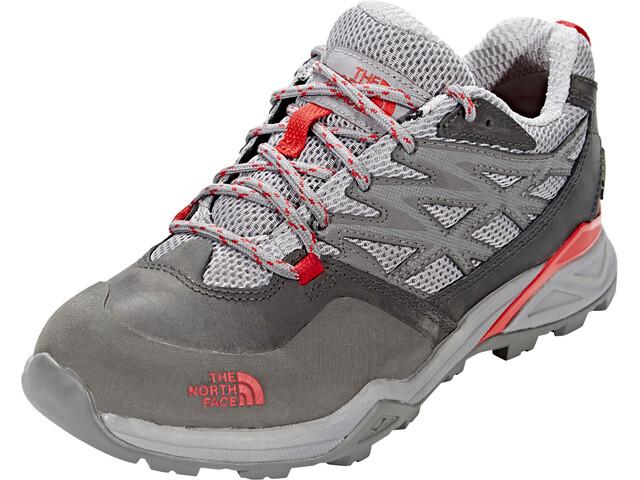 194cda72b The North Face Hedgehog Hike GTX Shoes Women dark gull grey/melon red